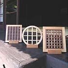 横浜のオーダー家具ユウキがつくる京都の丸と四角格子建具