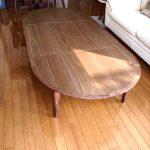 東京のオーダー家具ユウキが作った『伸縮式の座卓』