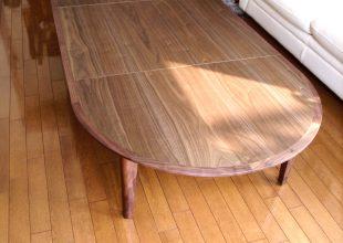 オーダー家具 『伸縮式の座卓』