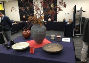 気導術の先輩が参加された陶芸展に行ってまいりました。