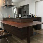 横浜のオーダー家具ユウキが作った立派なキッチンカウンターを作らせていただきました。