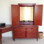 東京のオーダー家具ユウキが作ったお手持ちの家具にそっくり色を合わせた仏壇