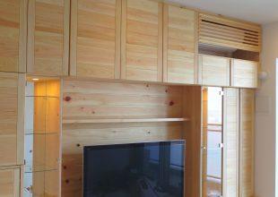 壁面収納 『ひのき材×ご供養家具×からくり家具』 (S-052)