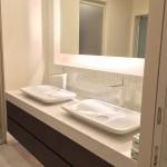東京のオーダー家具ユウキが作った洗面カウンター