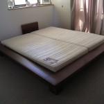 東京のオーダー家具ユウキが作ったオーダークイーンサイズベット
