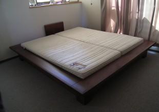 ベッド オーダークイーンサイズベット