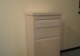 神奈川のオーダー家具ユウキが作った「 開けられますか?からくりをとりいれた防犯家具 」