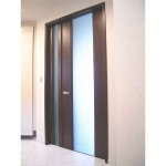 東京のオーダー家具ユウキが作った扉厚65mmのリビングドア