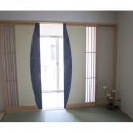 東京のオーダー家具ユウキが作ったワーロンを使用した和室引戸