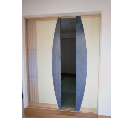 ワーロンを使用した和室引戸10