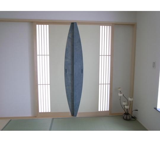 ワーロンを使用した和室引戸2