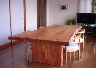 思いでの材料で作る家具