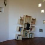 東京のオーダー家具ユウキが作ったグランドピアノの重量にも耐えられる本棚・ブックボックス ボブ