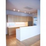 東京のオーダー家具ユウキが作った木目をひと続きにしたリフォーム