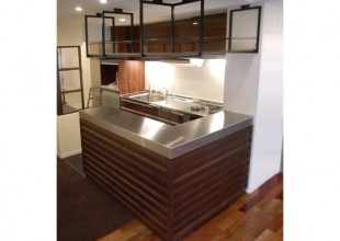 リフォーム 2mm厚ステンレス天板のキッチンリフォーム
