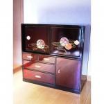 東京のオーダー家具ユウキが作った刺繍入り蒔絵漆箱のリペア