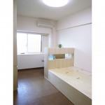 東京のオーダー家具ユウキが作った照明付き多機能ベッド