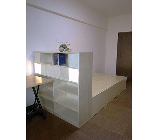 照明付き多機能ベッド