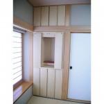東京のオーダー家具ユウキが作った押入れをリフォームした仏壇収納