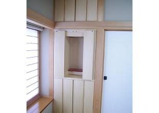 仏壇・仏壇収納家具 押入れをリフォームした仏壇収納