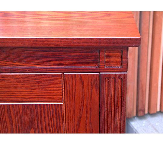 お手持ちの家具にそっくり色を合わせた仏壇