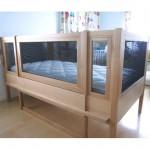 東京のオーダー家具ユウキが作った障害をもたれたお子さまの大人になっても使えるサークルベッド