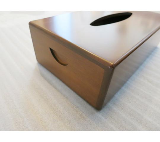 木製のティッシュケース3