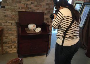 ご供養家具の新商品を大倉陶園様で撮影させていただきました。