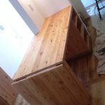 東京のオーダー家具ユウキが作った『耐荷重150kgある跳ね上げ天板』(T-020)