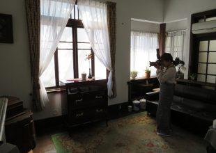 ご供養家具の新商品撮影を、大倉陶園様に引き続き一欅庵様で行いました。