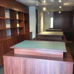 東京のオーダー家具ユウキが作った創業昭和5年、用賀の老舗文具店の新装家具工事