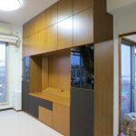 東京のオーダー家具ユウキが作った配線が見えないテレビボード