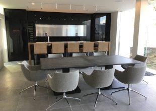 熱海で企業様保養所の家具が完成いたしました。