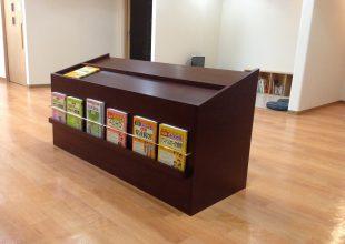 オーダー家具 医院の多目的収納・飾り棚