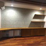 東京のオーダー家具ユウキが作った書斎デスク・ローボード