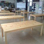 東京のオーダー家具ユウキが作った神奈川県産材で作るショールーム展示用家具