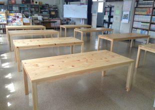 テーブル・デスク 神奈川県産材で作るショールーム展示用家具