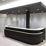 東京のオーダー家具ユウキが作った受付カウンター