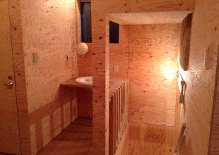 オーダー家具 建築での構造材を、表舞台で取り上た物件です