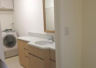 洗面・トイレ収納 洗面台のリフォーム工事
