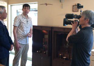 ご供養家具が、NHKワールドで世界150か国に向けて紹介されます。