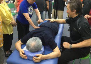 「気導術」の訓練に行ってきました。