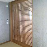 東京のオーダー家具ユウキが作った本千鳥格子