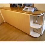 東京のオーダー家具ユウキが作ったCD500枚入るカウンター下収納