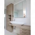 東京のオーダー家具ユウキが作った使い勝手を考慮した洗面収納