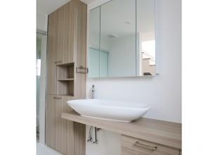 洗面・トイレ収納 使い勝手を考慮した洗面収納
