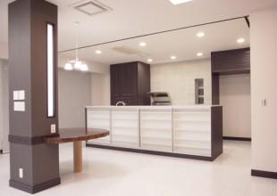 高級感と機能性を備えたキッチン