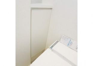 洗面・トイレ収納 扉を外して使うトイレ収納