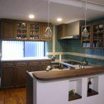 東京のオーダー家具ユウキが作った『アンティークキッチン』(K-033)