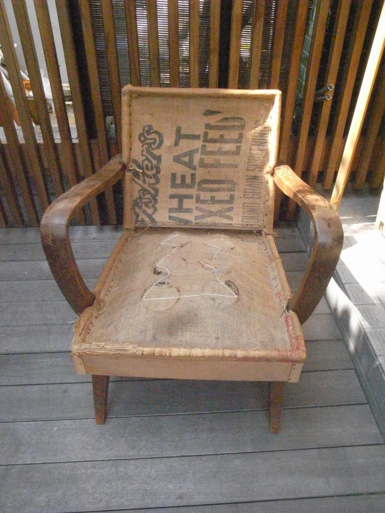 東京のオーダー家具屋の作る思い出がつまった椅子のリフォーム1